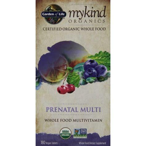 Garden Of Mykind Prenatal Review Garden Of Mykind Organic Prenatal Multi 90 Ct