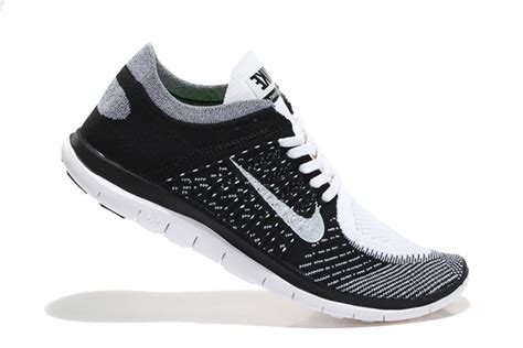 nike running shoes sale womens nike free 4 0 flyknit black grey white running shoes