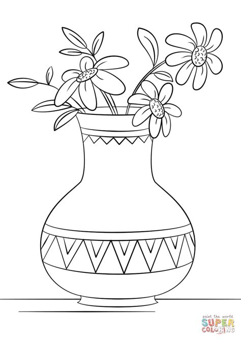 printable version of html page unique vase coloring page pictures coloring pages for