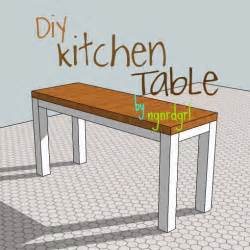 my stead diy kitchen table part 1