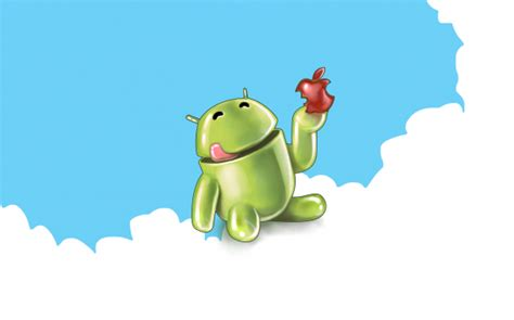 wallpaper apple eating android europeans love android more than ios
