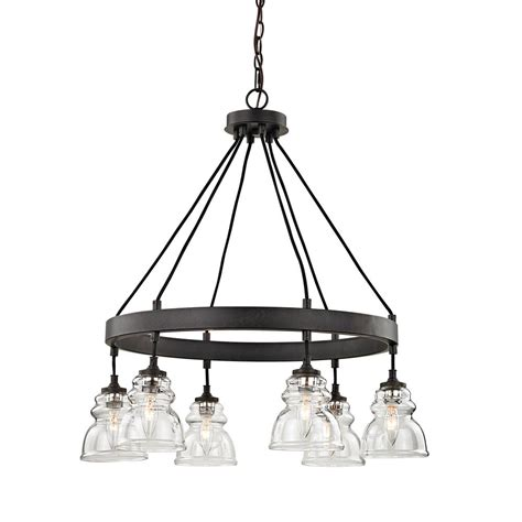Fifth And Main Lighting 6 Light Antique Bronze Pendant Mains Lights