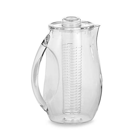 bed bath and beyond pitcher prodyne fruit infusion pitcher bed bath beyond