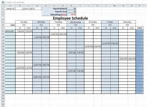 free work schedule maker template free printable work schedule