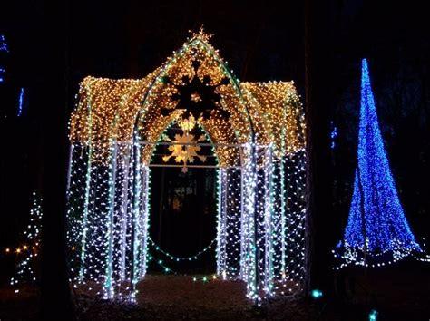 christmas light canopy christmas decorating