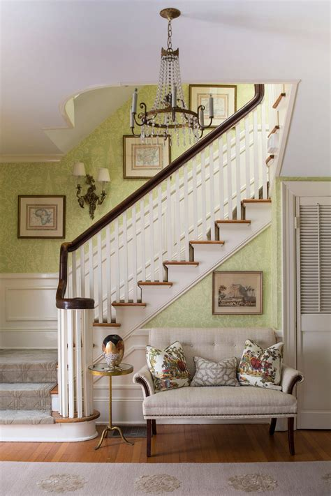 foyer settee photo page hgtv