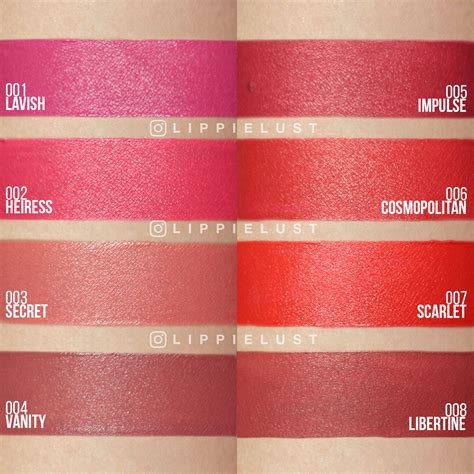 Lipstik Makeover Matte Lip swatch review make matte lip all