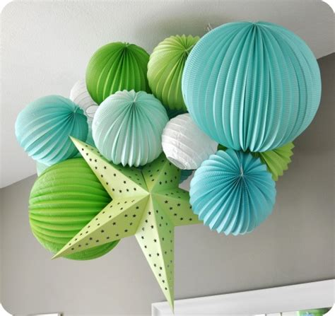 let s stay paper lantern decorating ideas