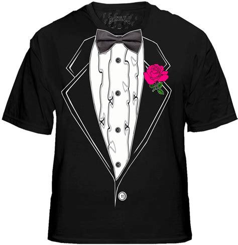 Tuxedo T Shirts Mens Black Ruffled Tuxedo T Shirt With Pink Rose Tuxedo T Shirt Template