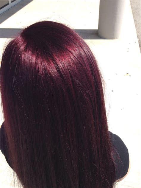 deep burgundy brown hair color the 25 best cherry coke hair ideas on pinterest dark