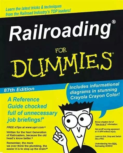 Complete Mba For Dummies Free Ebook by Railroad Humor Railroader S Humor And