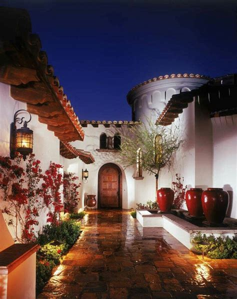 hacienda style house 25 best ideas about mexican style homes on pinterest