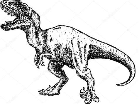 Drawing T Rex Dinosaur by T Rex Dinosaurios Dibujo A L 225 Piz Dibujo Dinosaurio