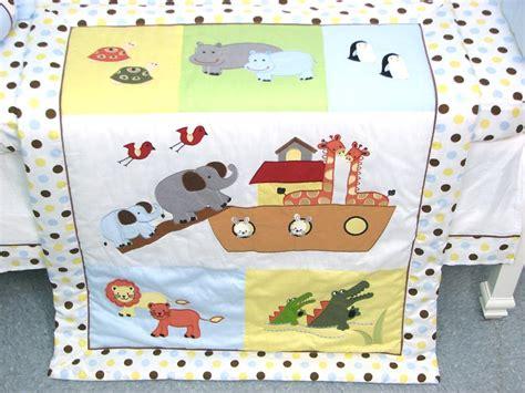 noah s ark baby bedding soho designs noah ark baby crib nursery bedding set 14 pcs