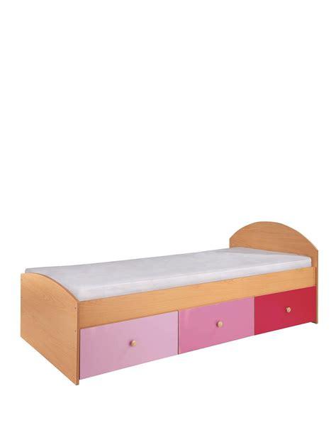 Childrens Single Bed Frames Kidspace Metro Single Storage Bed Frame Co Uk