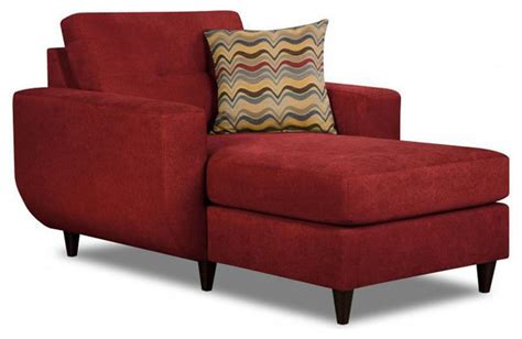 red chaise lounge chairs made to order simmons upholstery killington red chaise