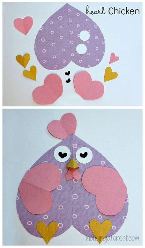printable valentine animal crafts best 25 chicken crafts ideas on pinterest chicken