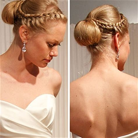 chic braids for your wedding day in south africa elegancka fryzura ślubna z warkoczem dobieranym whiteday pl