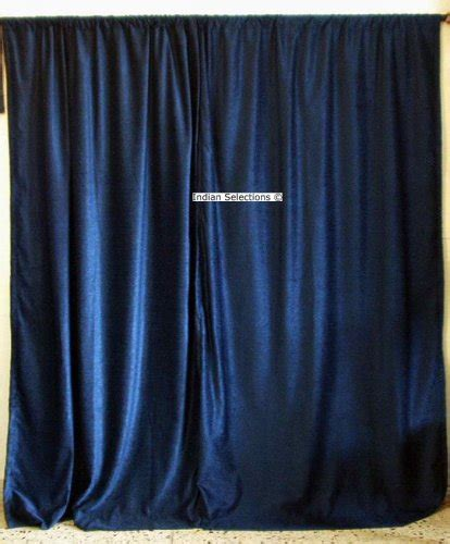 Navy Velvet Curtains Cheap Royal Velvet Navy Blue Velvet Curtains Drapes Panels Curtain Length 96 Inches