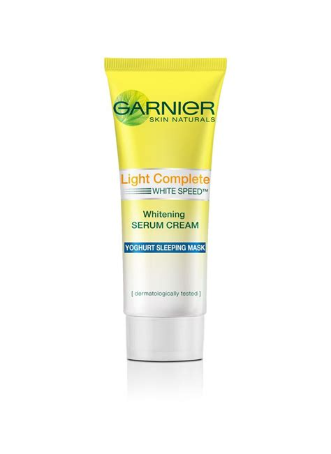 Garnier 20ml garnier light complete yoghurt sl mask tub
