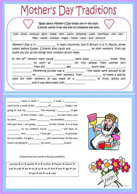 s day song esl s day traditions worksheet free esl printable