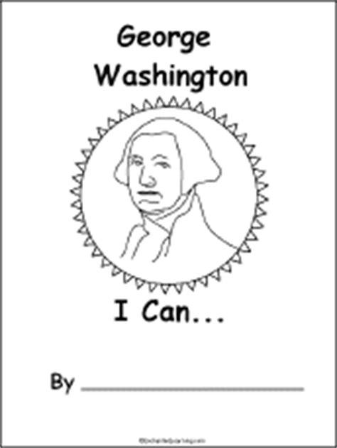 george washington printable biography george washington i can a printable book