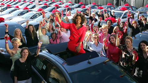 Oprah Giveaway - oprah s famous car giveaway photo gallery
