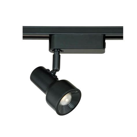 track lighting kits menards baron 1 light 5 875 quot black track light at menards 174