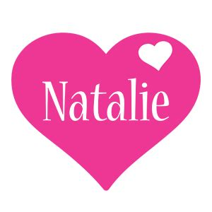 design love fest natalie natalie logo name logo generator i love love heart