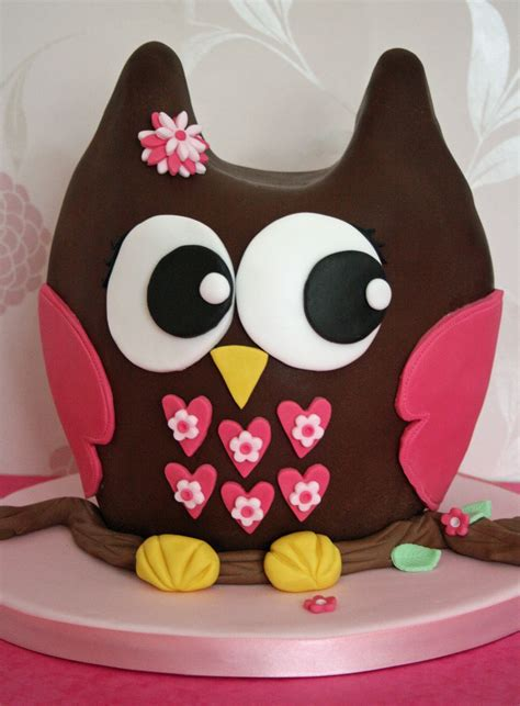 3d Cake by Lauralovescakes 3d Chocolate Owl Cake