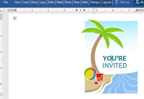 summer invitation templates free summer invitation template for word