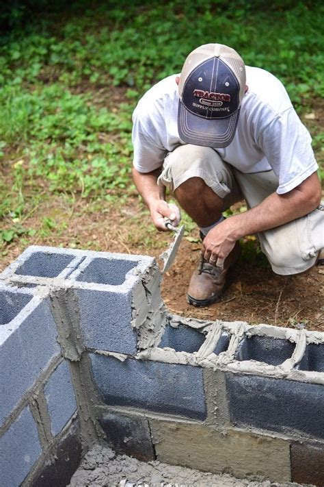 Cinder Block Pit Inexpensive And Attractive Ideas 17 Best Ideas About Cinder Block Pit On Cinder Block Bench Bench Block And