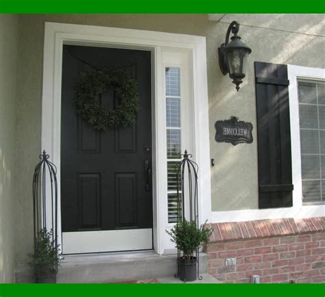 painting exterior door without removing prestigenoir com how to paint an exterior door without brush marks