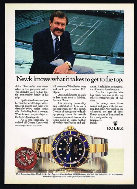 rolex print ads 13 best rolex tennis world images on pinterest rolex