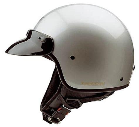 Motorrad Police Helm by Held Motorrad Helm Fiberglas Jet Police Silber S Ebay