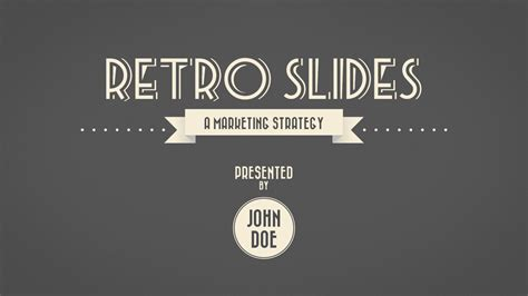 retro powerpoint template retro template powerpoint retro slides powerpoint template
