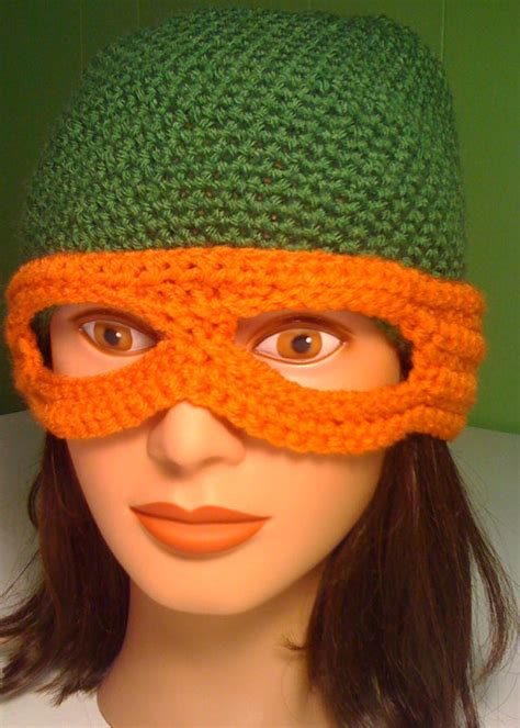 crochet pattern ninja turtle mask hats www ohmz net