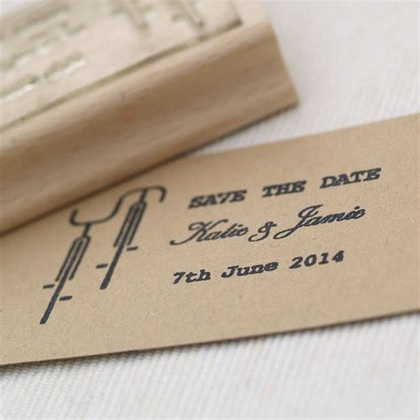 Save The Date Rubber Sts Wedding by Z 246 Ld Esk 252 Vő