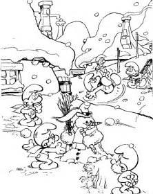 smurfs coloring pages coloringpages1001