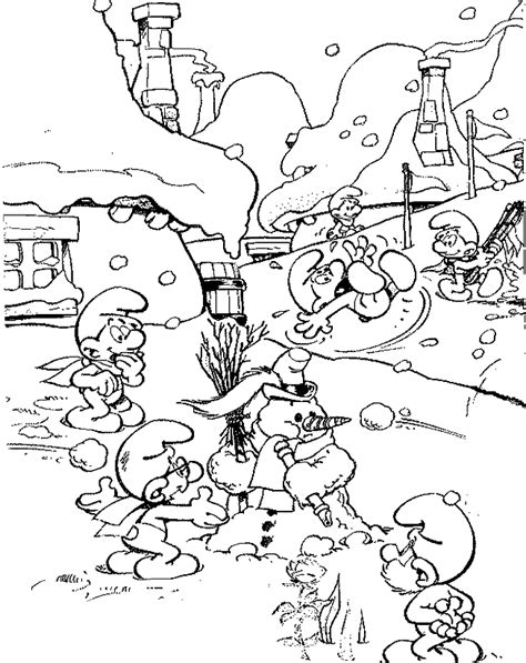 the smurfs coloring pages coloringpages1001 com