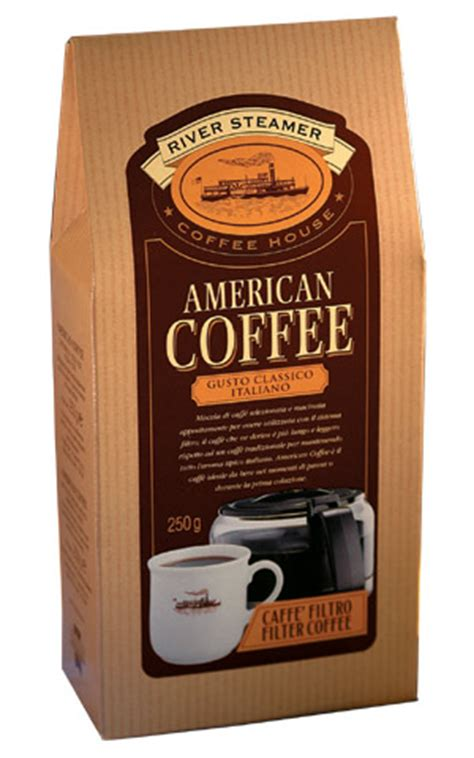 River Steamer American   ground coffee