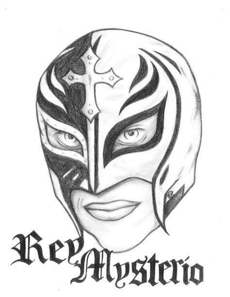 Sin Cara Coloring Pages Coloring Home Cara And Mysterio Coloring Pages