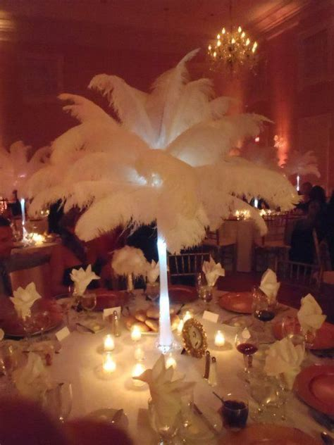 feather centerpieces for weddings 20 quot ostrich feather centerpiece 20 inch eiffel tower vase ostrich feather centerpieces