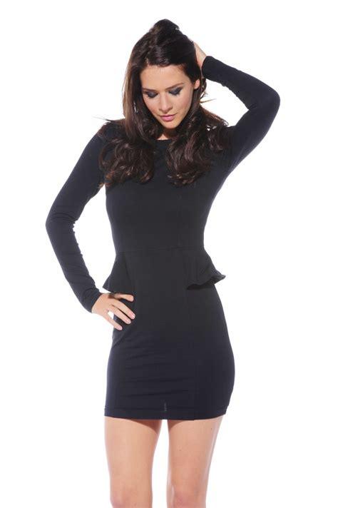 black peplum dress picture collection dressedupgirlcom