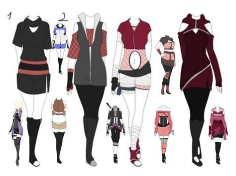 Jaket Style Coklat Gaara polyvore and anime