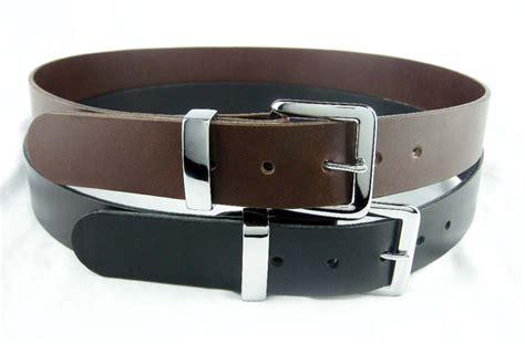 leather dress belt amish made genuine 9 oz leather