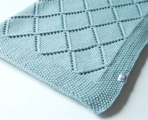 Decke Stricken Muster by Knit Baby Blanket Knitted Baby Blanket Merino