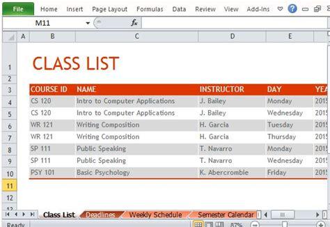 Butte College Calendar Search Results For College Semester Schedule Template