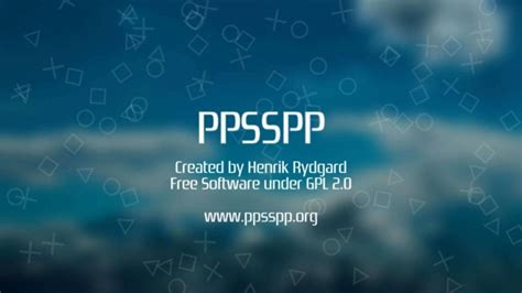 ppsspp android image for psp emulator ppsspp android