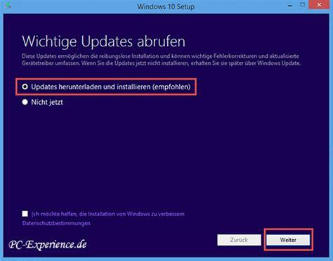 windows 10 herunterladen tutorial windows 10 upgrade installation neuinstallation